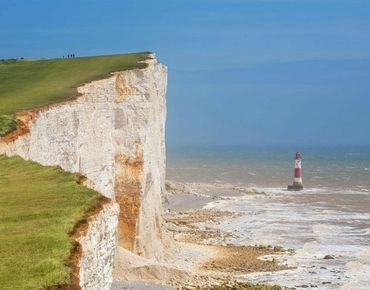 Kreideklippen bei Beachy Head in der Nähe von Eastbourne, East Sussex